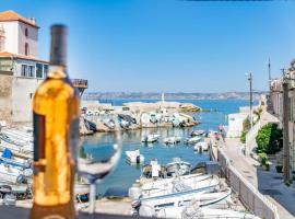 Malmousque Le bleu dans les yeux les pieds dans l'eau - Air Rental, holiday home in Marseille