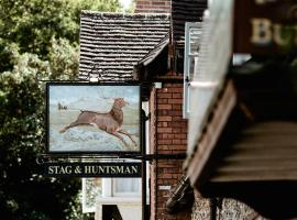 The Stag and Huntsman at Hambleden, bed & breakfast a Henley on Thames