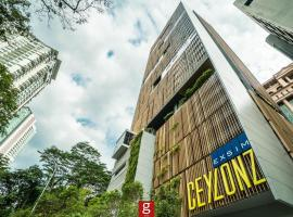 Ceylonz Suites KLCC by G Suites, hotel in Kuala Lumpur