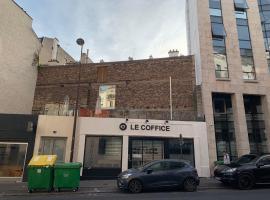 Le Coffice Auberge de Jeunesse, hostelli Pariisissa