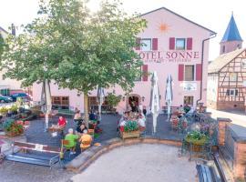 Hotel - Restaurant - Metzgerei Sonne, Hotel in Loffenau