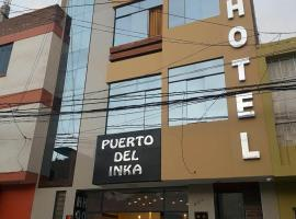 HOTEL PUERTO DEL INKA, hotel in Chiclayo