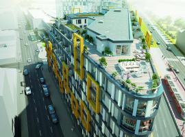 프라하에 위치한 호텔 Apartement Blanc Harfa design
