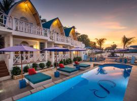 Santorini Beach Resort by Prasanthi, hotel in Gili Trawangan
