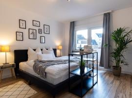 Central. Stylish. King-size. Balcony&Parking space, pet-friendly hotel in Wuppertal