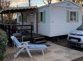 Ce mobilhome est en FERMETURE DEFINITIVE, campsite in Valras-Plage