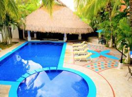 Hotel Costa Brava, hotel in Manzanillo