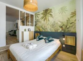 Greeter-Appartement moderne et lumineux à 10 min de la plage, apartment in Le Havre