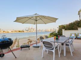 Rose Dream - 5 Bedrooms Palm Villa on the beach with private pool, villa in Dubai