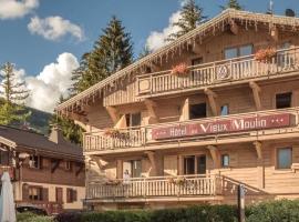 Au Vieux Moulin, отель в Межеве