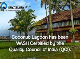 Coconut Lagoon - CGH Earth, accessible hotel in Kumarakom