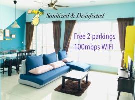 Santorini Residence Suites, hotel near Penang Botanic Gardens, Bayan Lepas