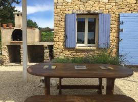 Cabanon de charme en plein coeur des vignes, hotel in Pertuis