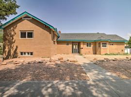 Bright ABQ Villa with Fire Pit 3 Mi to Airport, vacation rental in Albuquerque