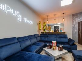 #PartyHouse Poznan – apartament w Poznaniu