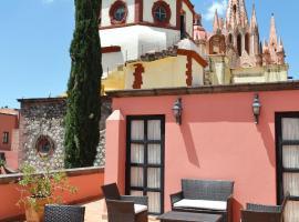 Hotel Casa Rosada - Adults Only, hotel in San Miguel de Allende