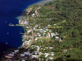 Sunset Hill Lodge, apartamento em Bora Bora