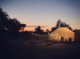 Eco-Camps Temecula, luxury tent in Warner Springs