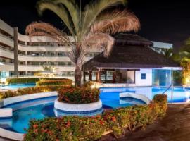 Flat no Blue Marlin Resort vista jardim, apartment in Parnamirim
