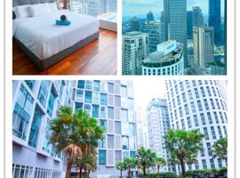 Soho Suites KLCC BY Artsy R&D, íbúð í Kuala Lumpur