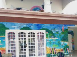 Casa Mãe D'água Hospedaria e Arte, hostel in Ubatuba