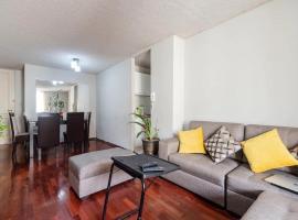 Joel Silvestre's apartment, hotel near San Marcos Stadium, Lima