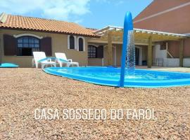 CASA SOSSEGO DO FAROL, holiday home in Tramandaí
