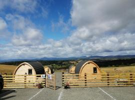 The Arns Glamping Pods, hotel near Stirling University Library, Bridge of Allan
