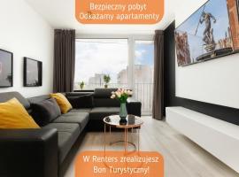 Westerplatte Apartment by Renters – hotel w pobliżu miejsca Latarnia Morska Gdańsk Nowy Port w Gdańsku