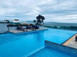 seaside20 meters Villa four floors 5 bedrooms 42# วิลลาในหาดจอมเทียน