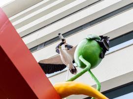 Volkshotel, pet-friendly hotel in Amsterdam