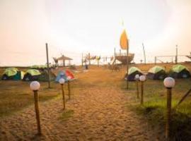 Seaview boat camping, campsite in Revadanda