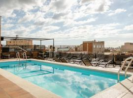 Sunotel Central, hotel with jacuzzis in Barcelona