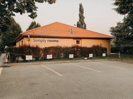 Simply rooms, hotel ve Slavkově u Brna