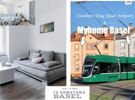 MyHome Basel 1A44, hotel in Saint-Louis