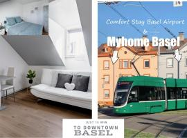 MyHome Basel 3A44, hotel in Saint-Louis