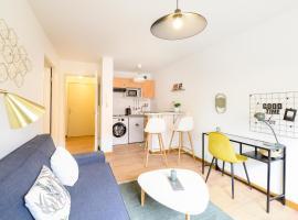 Très bel Appartement T2 - Ponts Jumeaux - Airbus St Eloi - Parking privé, appartement à Toulouse