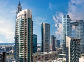 Quintessential Quarters - Burj Khalifa and Sea Views, appartement à Dubaï