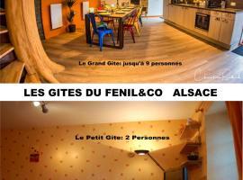 Les Gites du FenilCo Alsace, villa in Gundolsheim