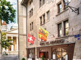 Les Armures – hotel w Genewie