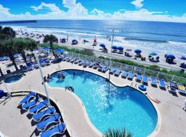 Deluxe Ocean Front Two-Bedroom Condo in Sandy Beach Resort, apartment in Myrtle Beach