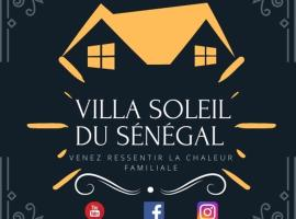 Villa soleil du Sénégal, hotel in Dakar
