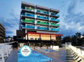 AxelBeach Ibiza Suites Apartments Spa and Beach Club - Adults Only, serviced apartment in San Antonio Bay