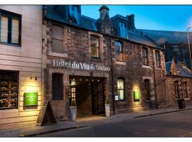 Hotel Du Vin Edinburgh, hotel cerca de The Scotch Whisky Experience, Edimburgo