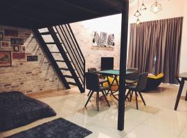 Manhanttan SOVO, Taman Mount Austin by Cactus Homestay, apartment in Johor Bahru
