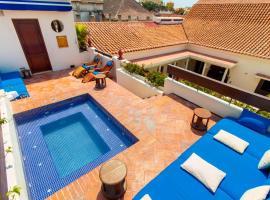 Hotel Quadrifolio, hotel in Cartagena de Indias