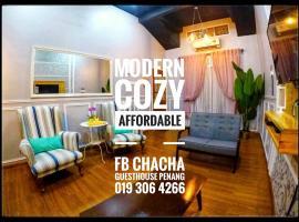 ChaCha Guesthouse Bertam Kepala Batas Pulau Pinang, guest house in Kepala Batas