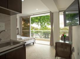 Hollywood Beach Suite, serviced apartment in Cartagena de Indias