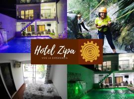 Hotel Zipa Villeta, hotel in Villeta