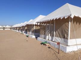 Dreamland desert camp, luxury tent in Jaisalmer